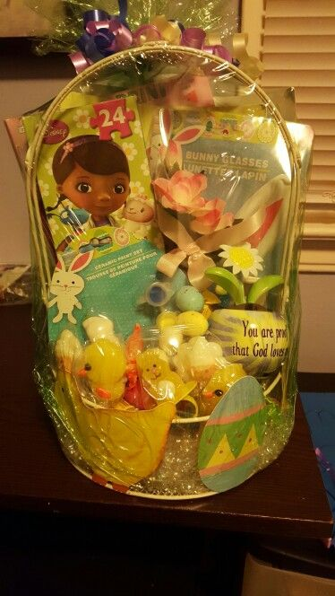 Easter basket for raffle.