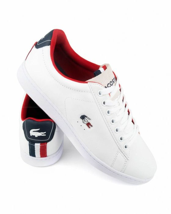 Classic Rubber Outsole Pique Mesh Lining Tricolor Crocodile Embroidered Branding Suede Tongue Lacoste Shoes Lacoste Sneakers Sneakers Fashion