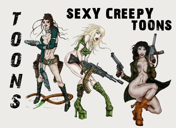 "ArtBook ""Sexy Creepy Toons"""