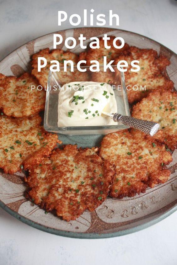 Placki Ziemniaczane (Potato Pancakes) - Polish Housewife