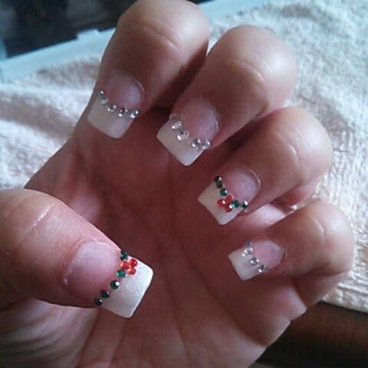 Christmas nails 2013