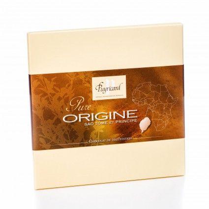 Tablette chocolat noir Pure Origine Sao Tomé 70% de cacao - chocolaterieonline.com