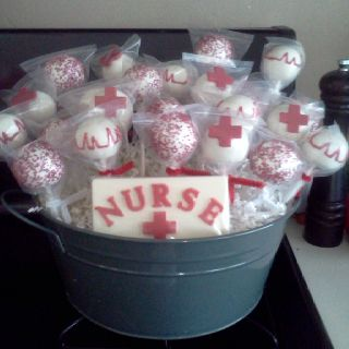 Cake Pop Cakepops And Nursing On Pinterest