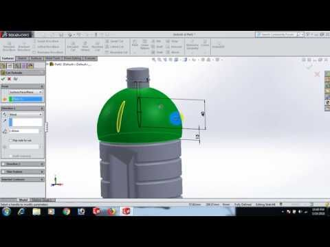 Solidworks Plastic Product 06