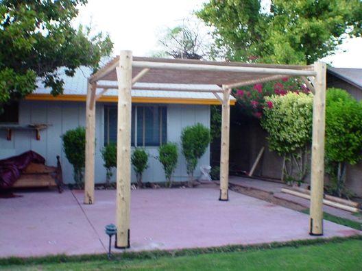 Ramada design ideas diy project do it yourself southwest for Do it yourself outdoor patio ideas