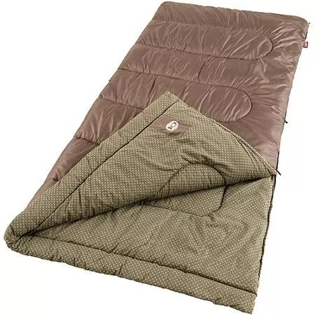 Coleman Oak Point Big and Tall Cool 30- to 50-Degree Adult $40 Sleeping Bag