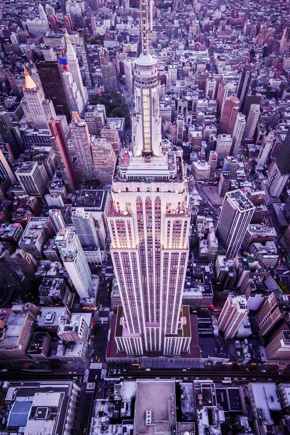 Empire State Building Aerial - Empire State Building Aerial #Pentax645z