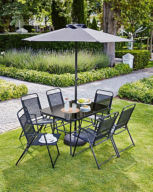 Whitworth 8 Piece Dining Set J D Williams With Images Garden