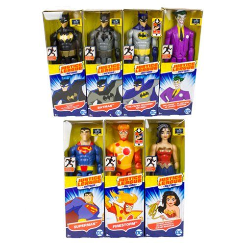Justice League Action Basic 12 Inch Action Figure Case Mattel Justice League Action Figures Action Figures Justice League Action Figures Popular Toys For Boys