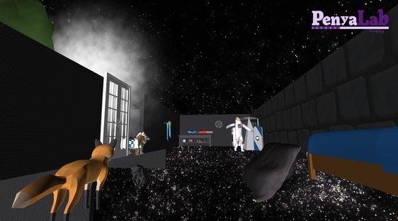 Escape room virtual – Viatge per l'espai