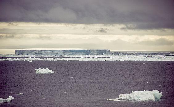 Shelfeis in der Antarktis