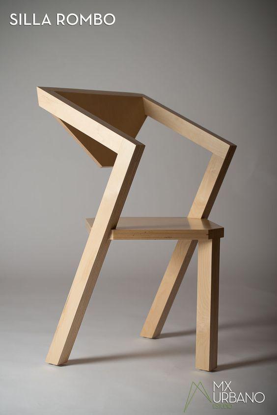Mobilier En Fer Et Bois Modele Vintage Style Industriel Inspiration Et Creation Chaise Bois Design Chaises Bois Chaise En Contreplaque
