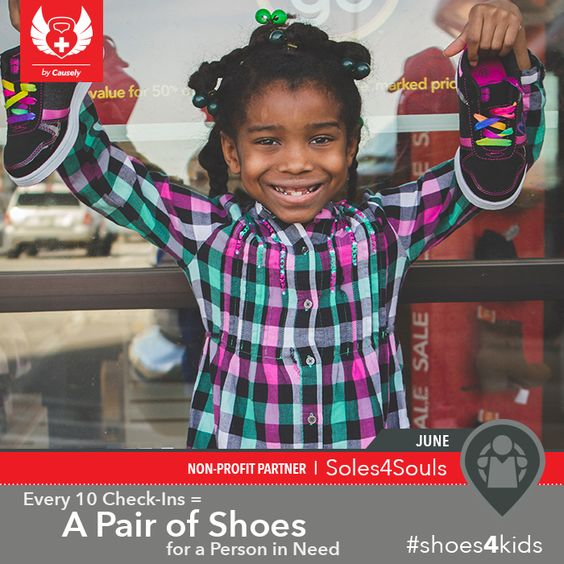 Your 10 check-ins at Body Sculpting by Emmanuel and Fit Camp DC helps to donate 1 pair of shoes to a child in need.  Make sure to make June a successful month! Thank you all for all that you do. - http://ift.tt/1HQJd81