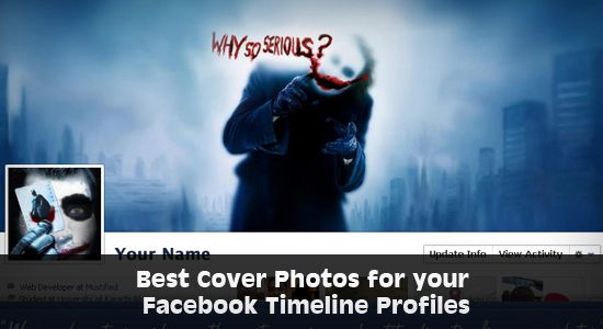 40 Best Cover Photos for your Facebook Timeline Profiles