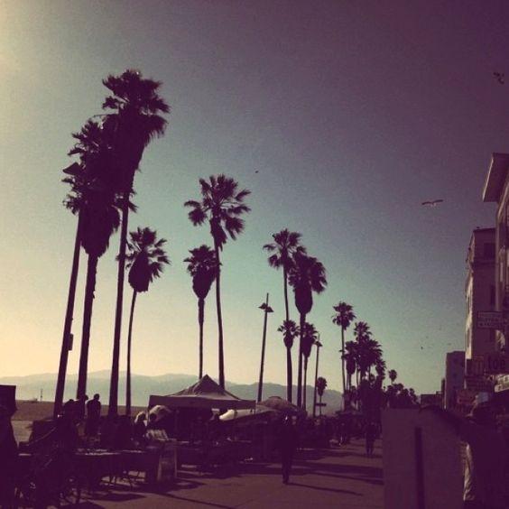 Venice boardwalk, I love Cali!