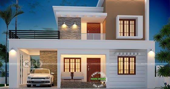1790 Square Feet Beautiful Modern Flat Roof Home Plan Flat Roof House Designs House Designs Exterior Flat Roof House