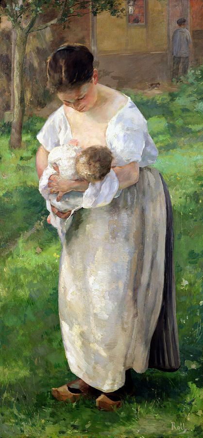 Alfred Roll, The Wet Nurse,