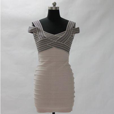 OuterInner #Bandage Dress#