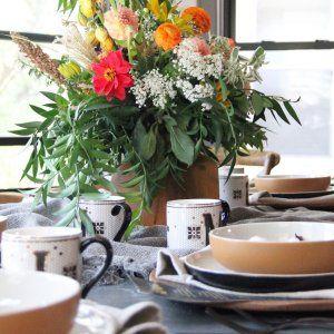 Kaloh Stoneware Dinnerware Set Amber Stoneware Dinnerware Sets Dinnerware Stoneware Dinnerware