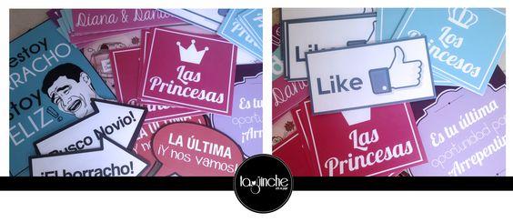 Letreros, frases, para boda www.taguinche.com