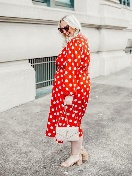 » 5 looks com estampa poá para se apaixonar -  dresses polka dot