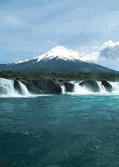 Los Saltos del Petrohuë, Región de los Lagos -Chile.