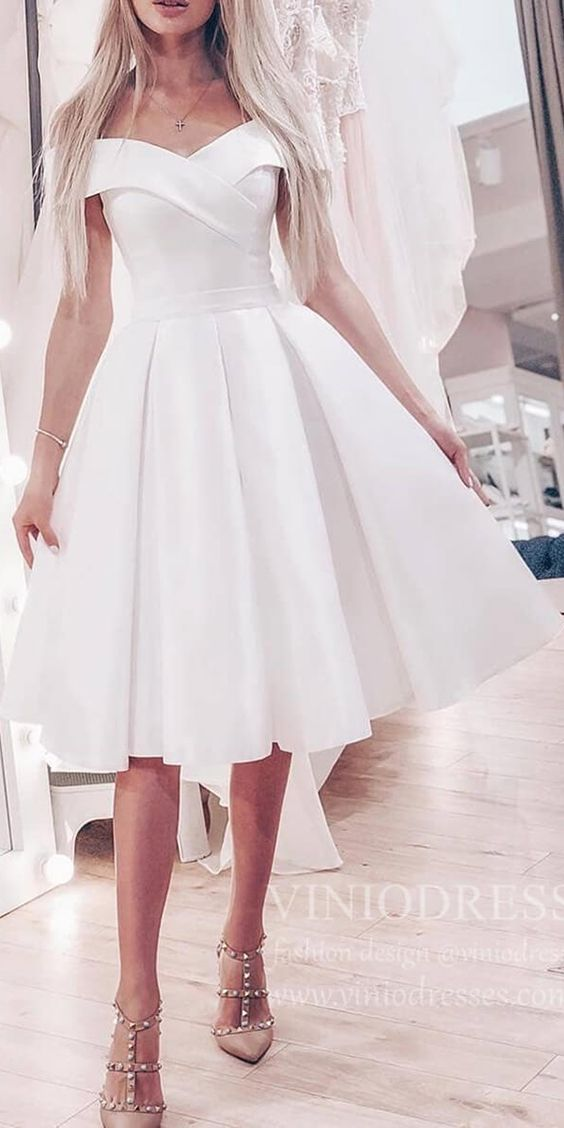 white graduation dresses 2020