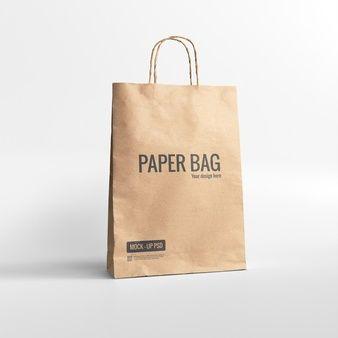 Download Isometric Box Mockup In 2021 Bag Mockup Paper Bag Mockup Free Psd