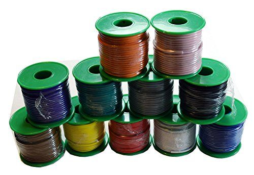 Voodoo 11 Spools 100 Feet 18 Awg Gauge Awg Primary Remote Wire Auto Power Cable Stranded