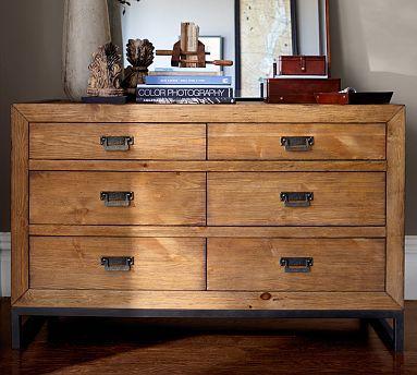Pottery Barn Hendrix Extra Wide Dresser 55 Wide X 22