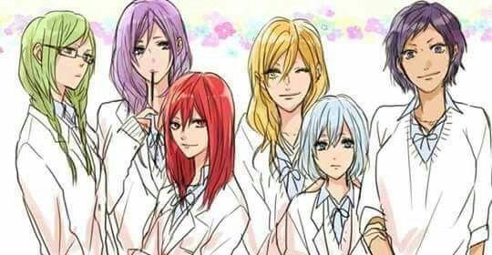 Kuroko no Basuke genderbend females || midorima shintarou || murasakibara atsushi || akashi seijuro || kise ryouta || kuroko tetsuya || aomine daiki || kuroko no basuke  Murasakibara is pretty