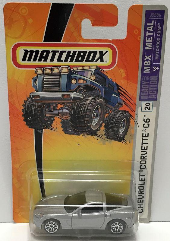 (TAS033845) - 2006 Mattel Matchbox MBX Metal - Chevrolet Corvette C6