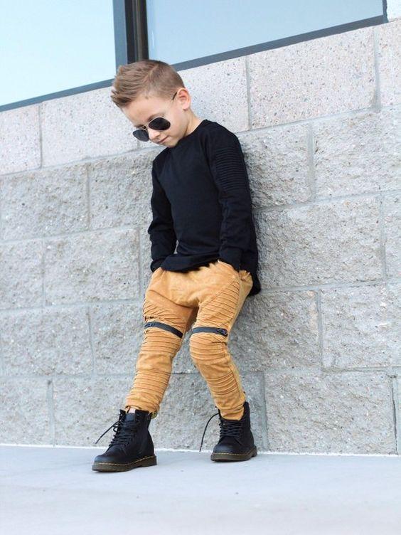 Hardal asit yıkama erkek jogging yapan pantolon / Erkek giyim setleri / Trendy erkek giysileri / Hipster erkek bebek pıhtı