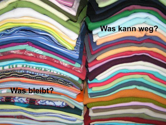 Bild zum Blogeintrag Entrümpeln im Kleiderschrank auf http://www.tipptrick.com/2013/06/24/claudias-praktischer-ratgeber-zum-entrümpeln/