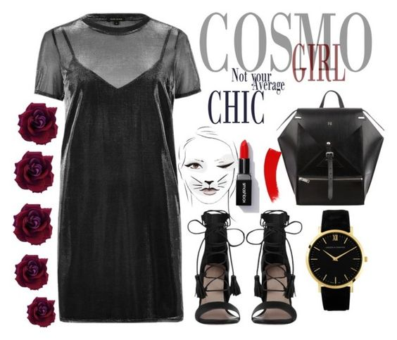 cosmo girl by lejlafazlic on Polyvore featuring polyvore fashion style River Island Zimmermann clothing