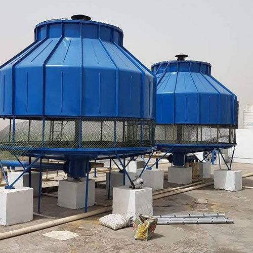 Round And Bottle Cooling Tower In 2019 Cooling Tower Tower