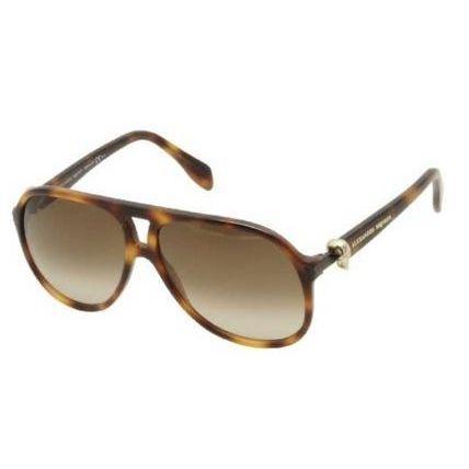 Alexander McQueen 'Havana' 4179/S 005L Women's Sunglasses