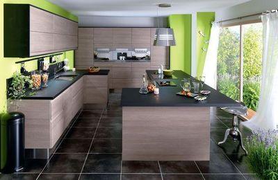 Cuisine angles and composition on pinterest - Changer les facades d une cuisine ...