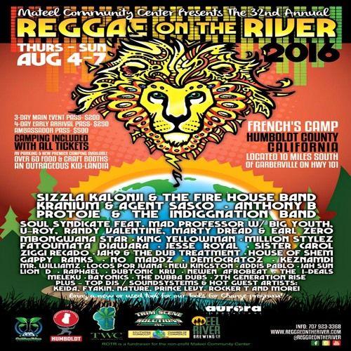 Ziggi Recado Live @ Reggae On The River 2016 by Jah Blem Muzik   Free Listening on SoundCloud