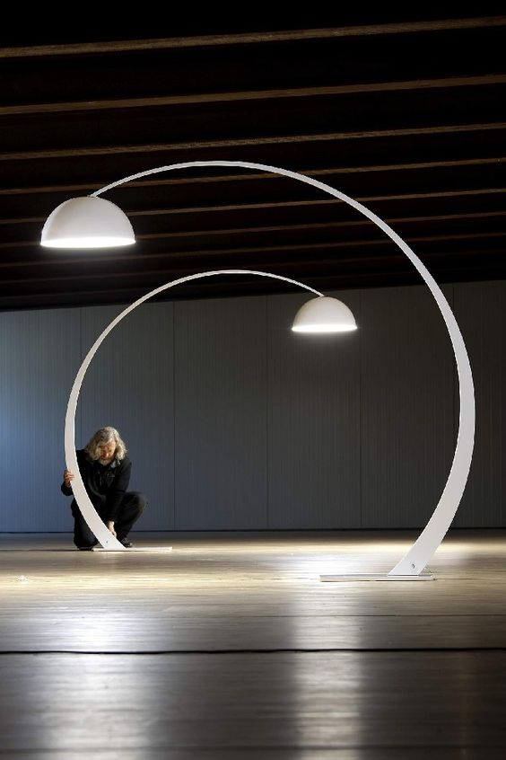 Arc Floor Lamp | Visit http://modernfloorlamps.net for more inspiring images