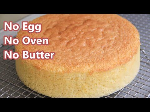 Basic Eggless Vanilla Cake Video How To Make No Oven Sponge Cake Without Condense Eggless Vanilla Cake Recipe Indian Sponge Cake Recipe Eggless Cake Recipe