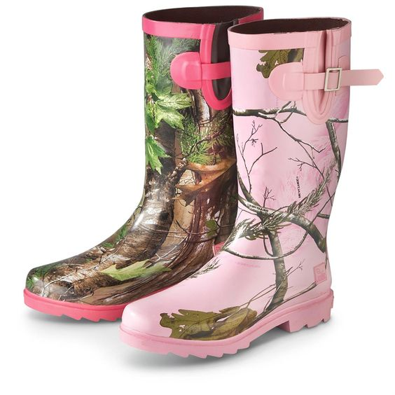 BargainOutfitters.com | Women's Realtree(R) Girl Rain Boots ...