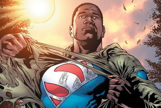 Michael B Jordan as Calvin Ellis: Superman of Earth-23