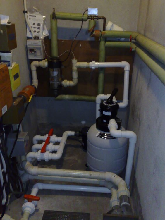 Swimming pool plant room equipment   Professional Swimming Pools are servicing, maintaining and consultants to London's Swimming Pool Owners