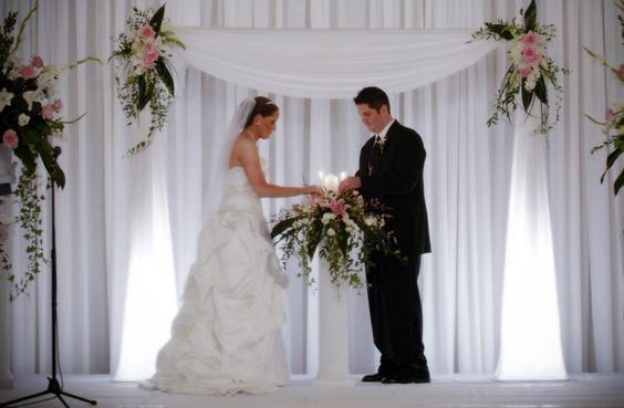Indoor Ceremony Inspirations: Altar Decorations, Indoor Wedding Ceremonies And Wedding