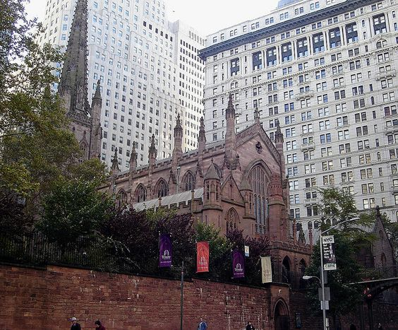Trinity Church in Manhattan