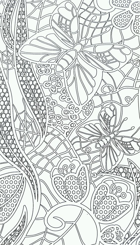 abstract coloring pages pinterest - photo#3