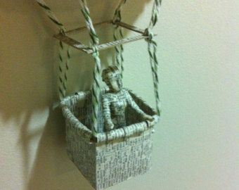 Book Sculpture Rapunzel and Her Prince by SurLaPage on Etsy