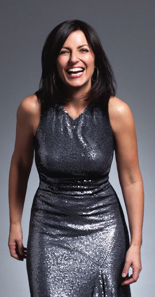 Davina McCall.  This woman keeps me fit. I have all her fitness DVDs.