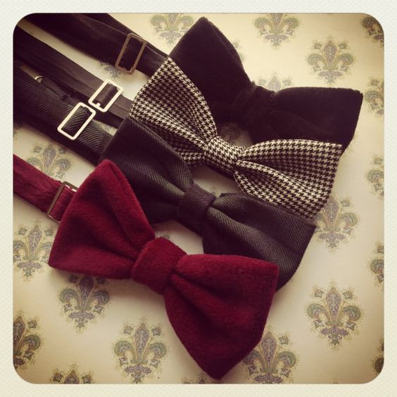 FAKE Bow tie Don't do it We can tell a mile away It doesn't make you look classy Get a clip tie if that's your style
